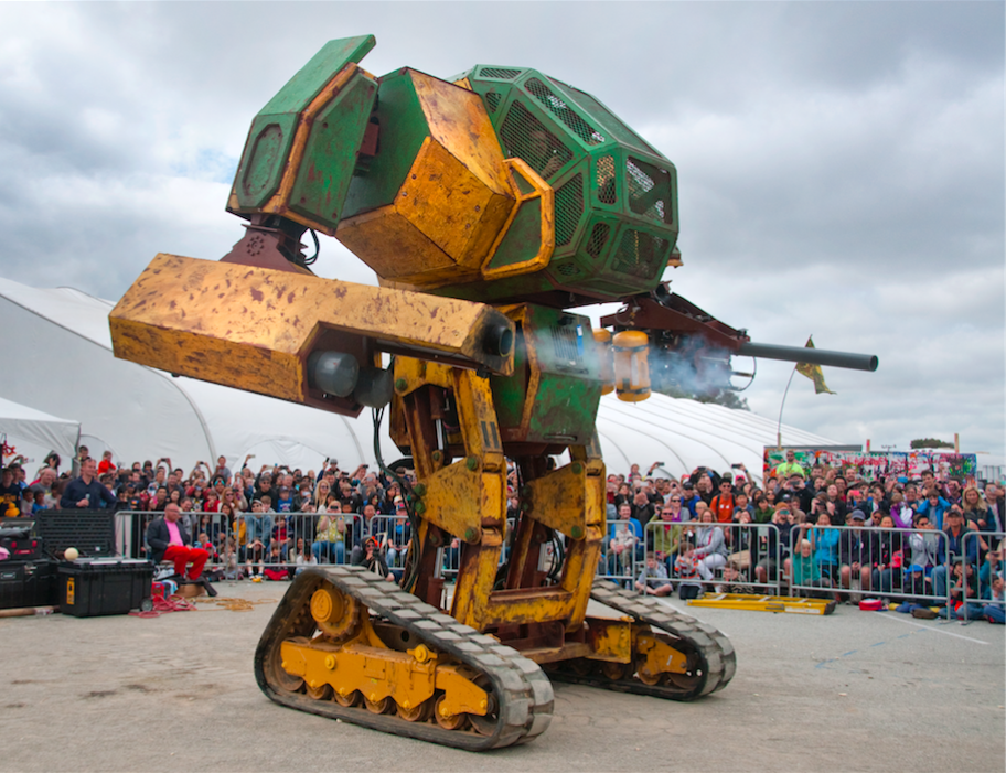 Attack of the Giant Robots