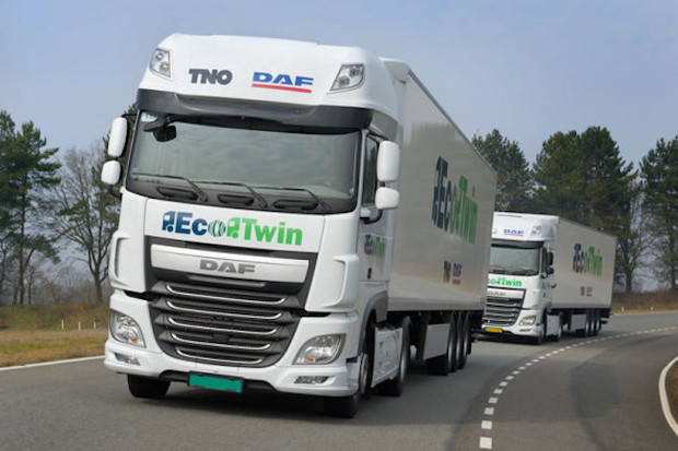 Autonomous Truck Convoy Drives Itself Across Europe