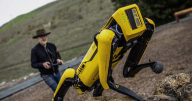 See Boston Dynamics' Robot Dog Tackle an Outdoor Obstacle Course