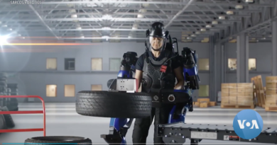 Wearable Robot Gives Users Super Strength