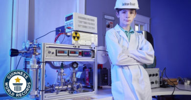 Middle Schooler Builds Tiny, Working Fusion Reactor